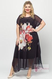 f4013ce476f Купить новинки женских платьев и сарафанов больших размеров из ...