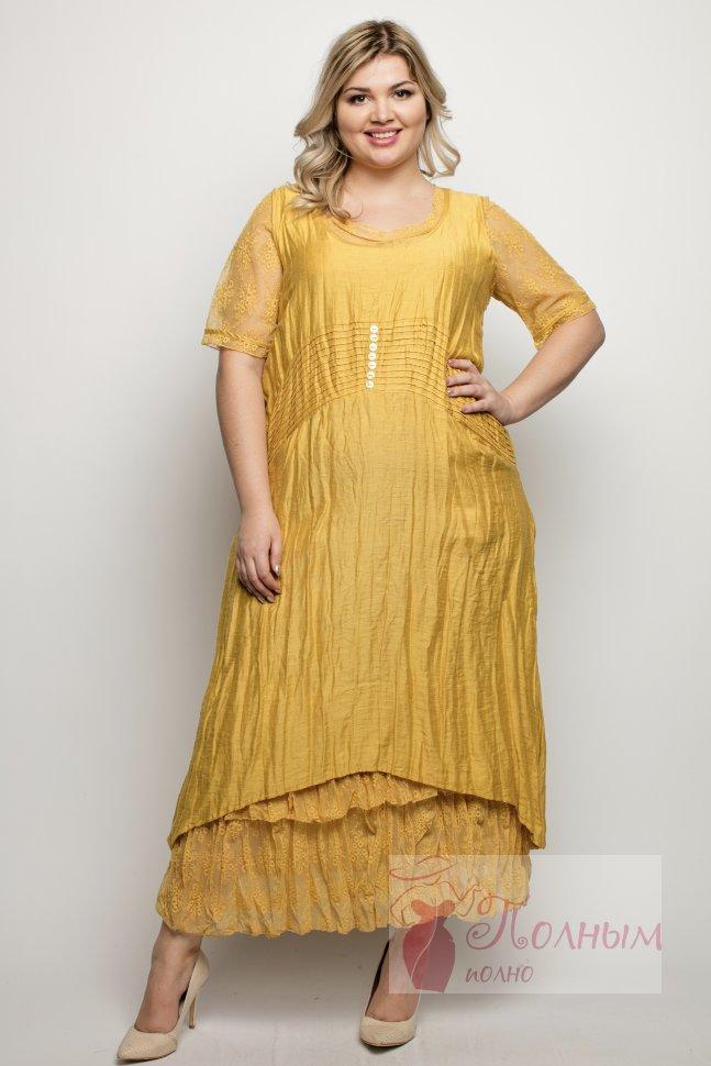 a247506f1d20eda 24-8993 Платье - двойка лен-хлопок LISSMORE