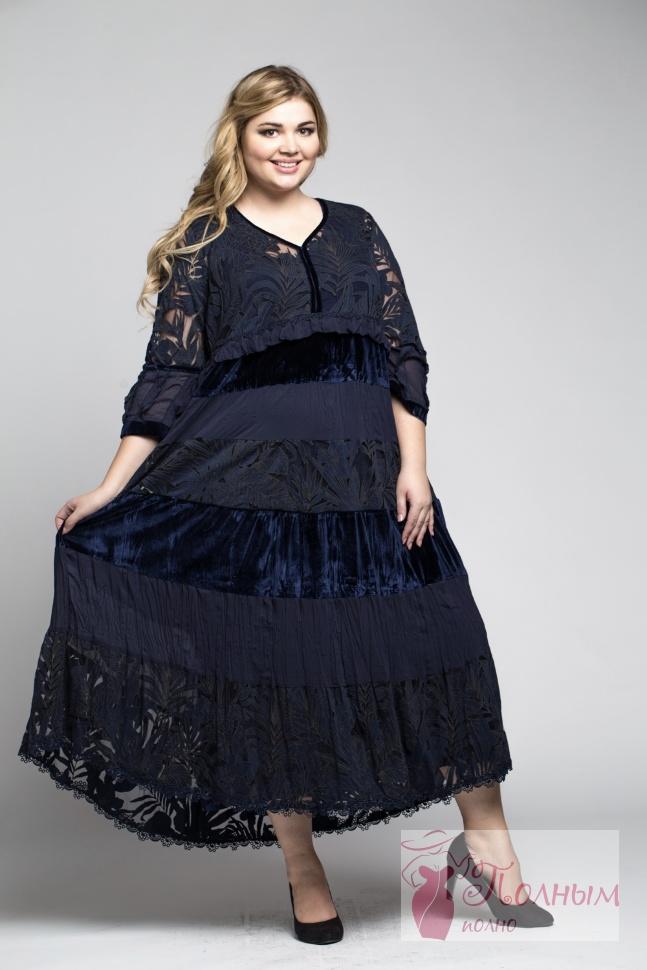 400c94a18dd 25-0254 Платье вечернее LISSMORE шифон бархат и длинный подклад ...