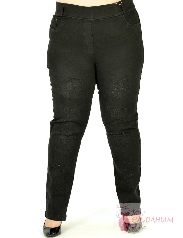 f875e9f1e3c 25-0559 Брюки-джинсы зауженные DARKWIN большого размера 52-54-56-58 ...