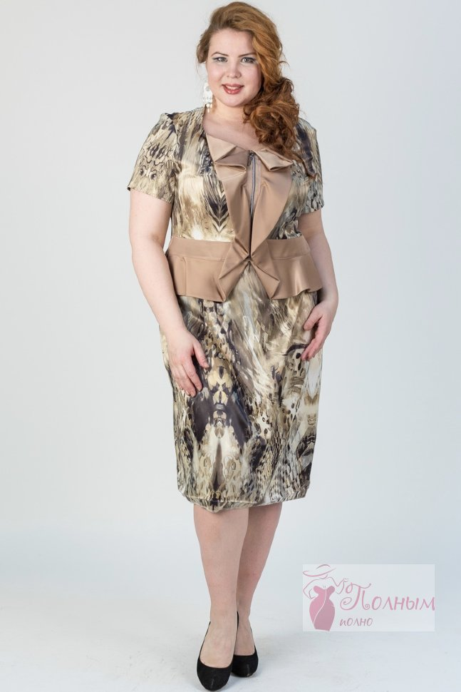 c0db7b4eb470c25 28-916 Платье повседневное классика Darkwin